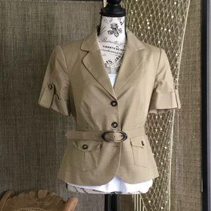 Belted shortsleeved CBR vintage jacket